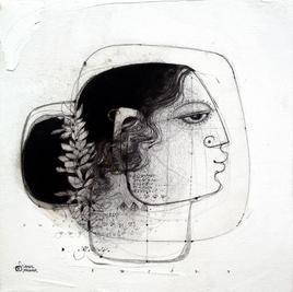 Moh Maya I by Amol Pawar, , , Gray color