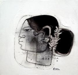 Moh Maya II by Amol Pawar, , , Gray color
