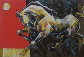 Euphoria In Being Me 2 by Dinkar Jadhav, , , Gray color