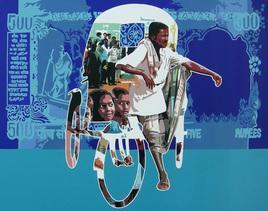 Untitled 27 by Sanjay Verma, , , Blue color