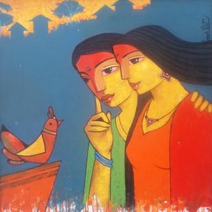 Friends 118 Digital Print by Ganesh Patil,Decorative, Decorative