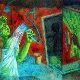 Curiosity Digital Print by Arindam Dutta,Expressionism
