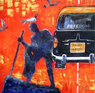 Mumbaism 6 by RAVOS, , , Orange color