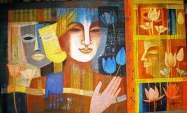 Colour Of Love by Chaitali Mukherjee, , , Brown color