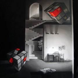 Life Corner by Shrikant Kolhe, , , Gray color