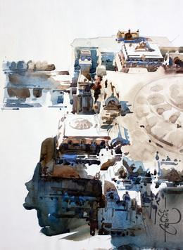 Top of Ellora by Vikrant Shitole, , , Gray color