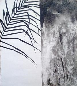 Against A Hard Wall by Aditi Chakraborty, , , Gray color