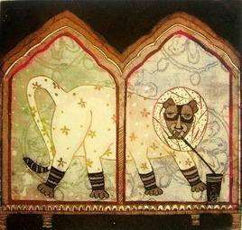 Untitled by Sonal Varshneya, , , Brown color