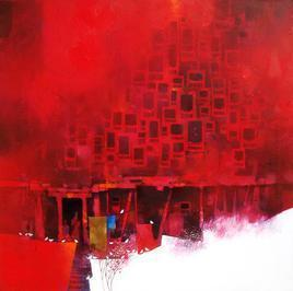Red Wada by Amol Pawar, , , Red color