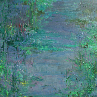 Waterscape 2 Digital Print by Animesh Roy,Impressionism, Impressionism