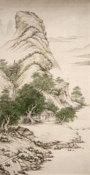 Landscape 3 Digital Print by Mahaveer Swami,Realism