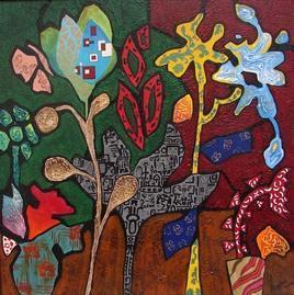 Bloom by Sheetal Singh, , , Brown color