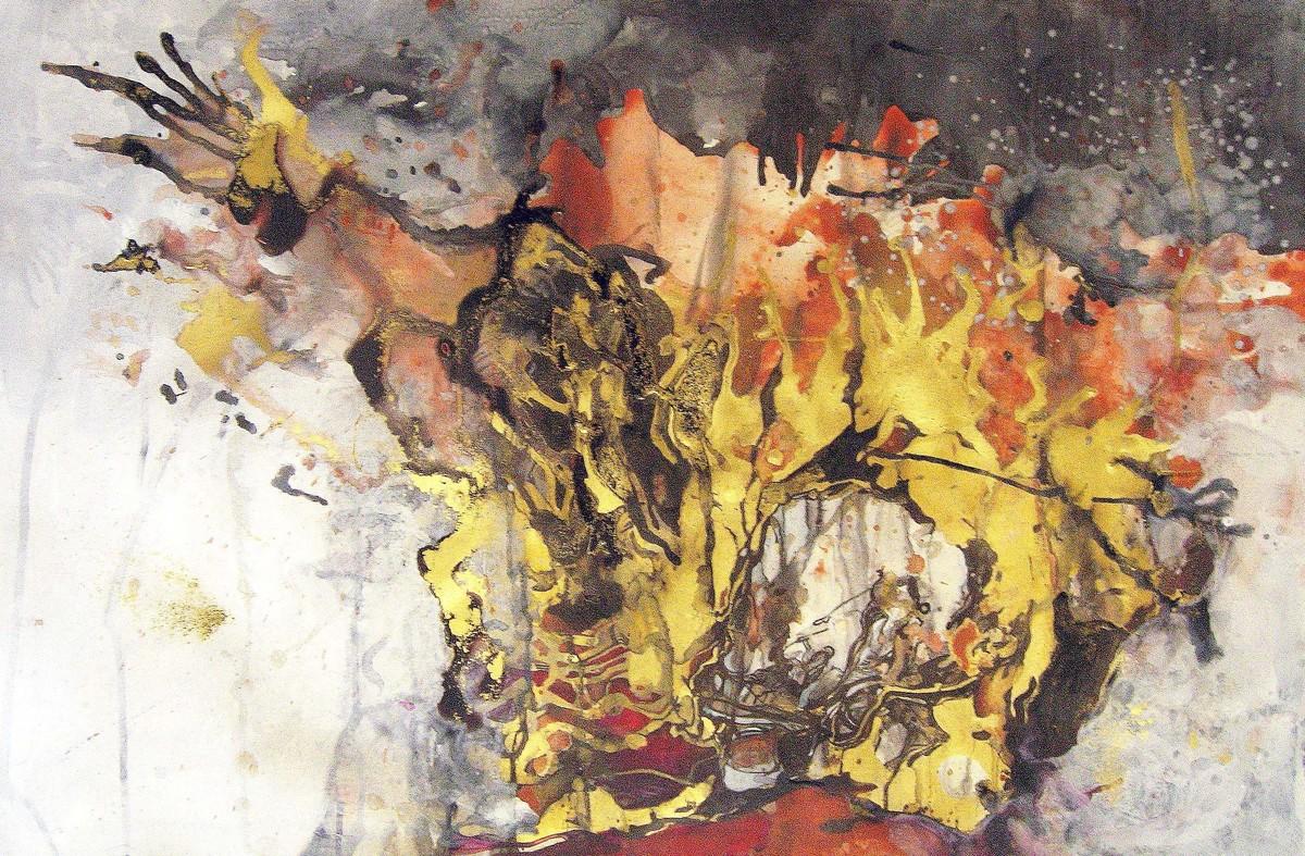 Skull 1 Digital Print by Abhijit Pawaskar,Abstract, Abstract