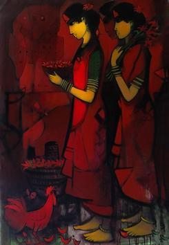 Untitled2 by Sachin Sagare, , , Brown color