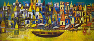Your Banaras 2 Digital Print by Arun K Mishra,Abstract, Abstract