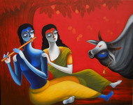 48x60 inch13  award received2014 holi re art zolo
