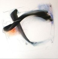 Untitled 8 by Archana Yadav, Abstract, Abstract Painting, Mixed Media on Canvas, Gray color
