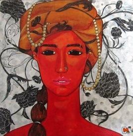 CreativeThoughts_1 by Suruchi Jamkar, , , Brown color