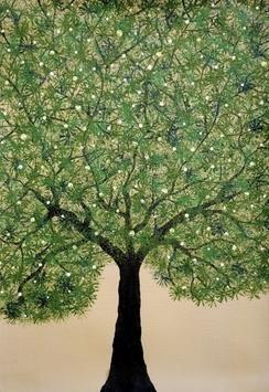 Treescape3 - Painting by Sumit Mehndiratta