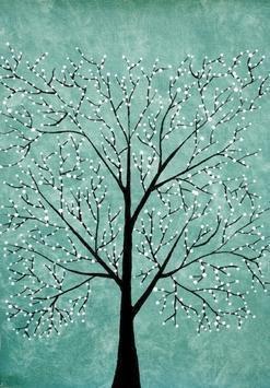 Treescape5 - Painting by Sumit Mehndiratta
