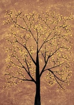 Treescape6 - Painting by Sumit Mehndiratta