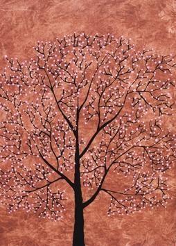 Treescape7 - Painting by Sumit Mehndiratta
