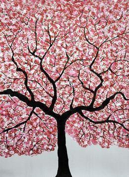 Treescape4 - Painting by Sumit Mehndiratta