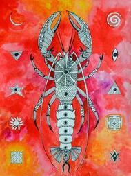 Vrishchik - Painting by Pragati Sharma Mohanty