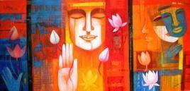 ColourofLove by Chaitali Mukherjee, , , Orange color
