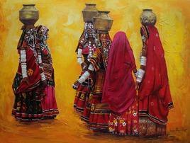 Lambadi by Iruvan Karunakaran, , , Brown color