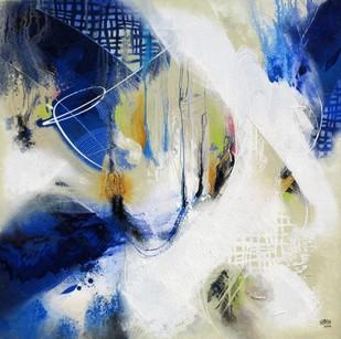 Untitled - Painting by Shirish Deshpande