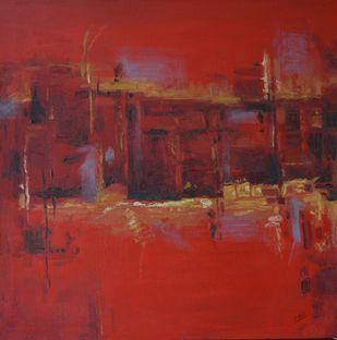 abstract -1 Digital Print by Atul Virkar,Abstract