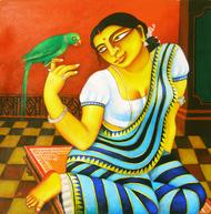 Chaarulata by Gautam Mukherjee, , , Brown color