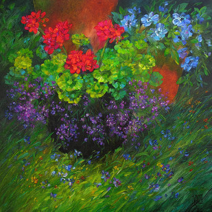 Garden Glory 42 by Swati Kale, , , Green color