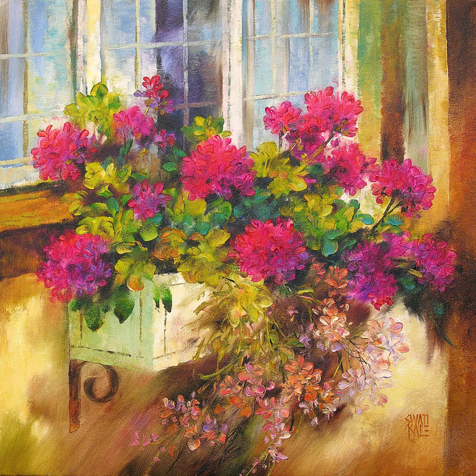 Garden Glory by Swati Kale, , , Brown color