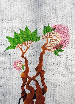 Bonsai 3 - Painting by Sumit Mehndiratta