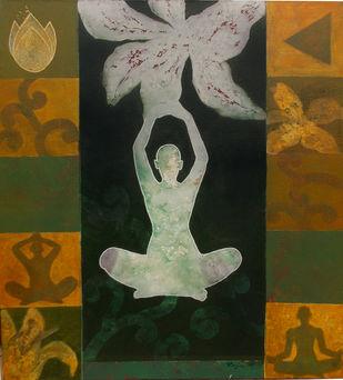 Meditation 23 Artwork By Raju Sarkar