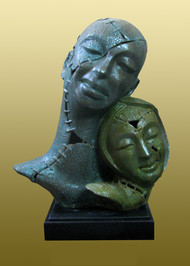 Pair - Sculpture by Subrata Paul
