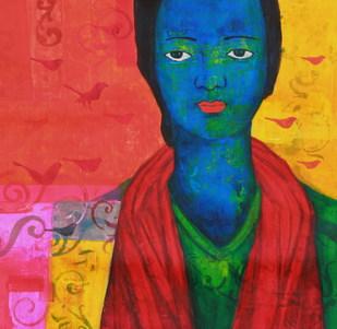 Autumn Saga by Priyanka Waghela, , , Red color