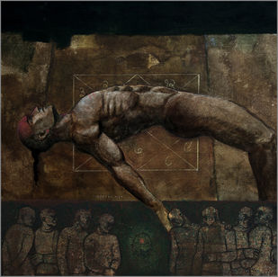 House of Gods 27 Digital Print by Deepak Nag Ji Mer,Surrealism