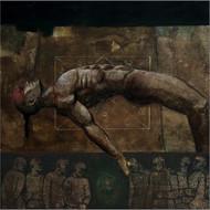 Deepak nagji mer house of gods %2827%29  40 x 40 inch mix media on canvas