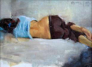 Asleep by Aditya Shirke, , , Gray color