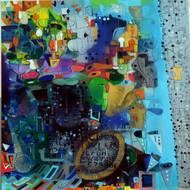 Urban mirage i1  acrylic on canvas 36 x36 inch 2013