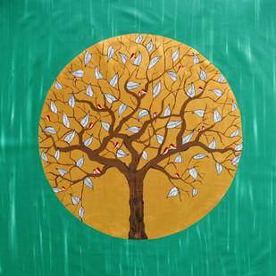 In the Emerald Forest Digital Print by Sumit Mehndiratta,Decorative