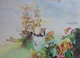 My Dream Garden-15 Print By Vijay Kiyawat