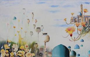 My Dream Garden 28 Print By Vijay Kiyawat