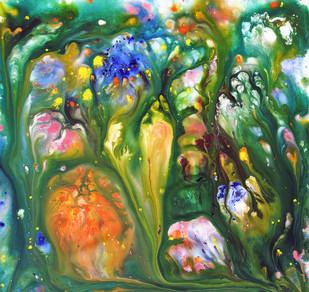 Fluidity Series No. 7  - Painting by Sumit Mehndiratta