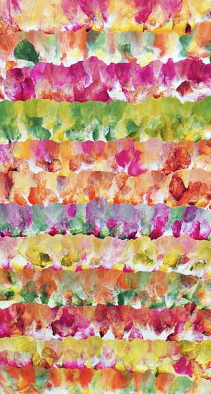Fields of Flowers - Painting by Sumit Mehndiratta