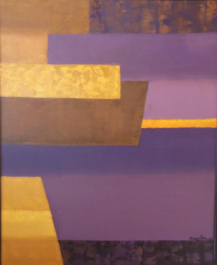 Escapes 3 by Gayatri Deshpande, , , Brown color