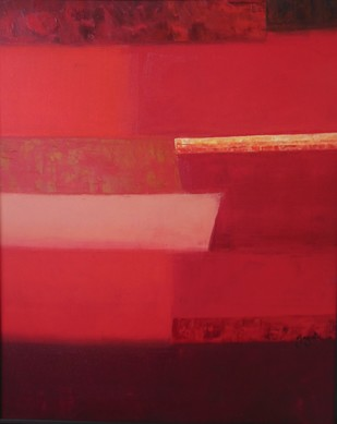 Escapes 4 by Gayatri Deshpande, , , Red color